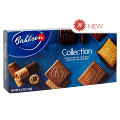 BAHLSEN COOKIES AND WAFERS COLLECTION 6.1 OZ BOX