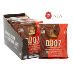 ENDANGERED SPECIES CHOCOLATE DUOZ CINNAMON CARAMEL & COFFEE CARAMEL 1.6 OZ