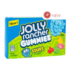 JOLLY RANCHER SOUR GUMMIES 3.5 OZ THEATER BOX