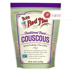 BOB'S RED MILL - TRADITIONL PEARL COUSCOUS - 16OZ