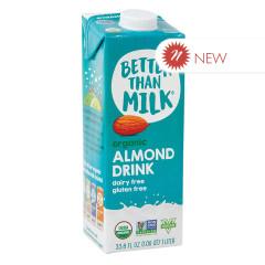 BETTER THAN MILK - ORGANIC ALMOND DRINK - 33.8OZ - PK6