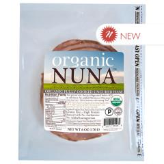 ORGANIC NUNA - UNCURED HAM PRE - SLICED - 6OZ