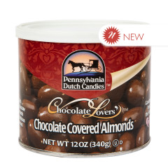 PDC - CHOCOLATE ALMONDS - MILK - CAN - 12OZ