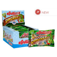 EFRUTTI DINOREX EXTRA SOUR GUMMI CANDY 1.4 OZ SHARE SIZE