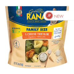 RANA - CHEESE TRICOLOR TORTELLONI - 20OZ