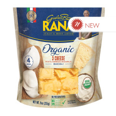 RANA - ORGANIC - 3 CHEESE RAVIOLI - 9OZ