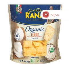 RANA - ORGANIC - 3 CHEESE RAVIOLI - 9OZ