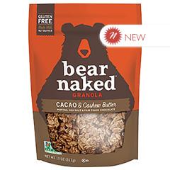 BEAR NAKED - GRANOLA - CACAO+ CASHEW BUTTER - 11OZ