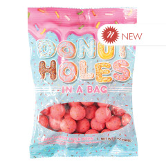 AMUSEMINTS - PEG - DONUT HOLE BITES - 5OZ