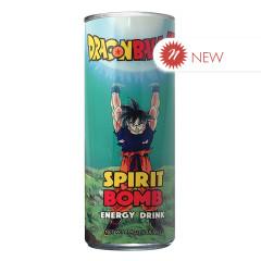DRAGON BALL Z SPIRIT BOMB ENERGY DRINK 12 OZ CAN