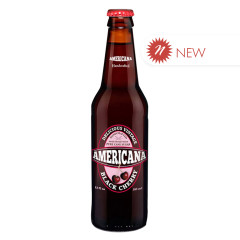 AMERICANA - SODA - BLACK CHERRY 12OZ
