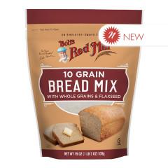 BOB'S RED - 10 GRAIN BREAD MIX - 19OZ