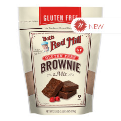 BOB'S RED - GLUTEN FREE BROWNIE MIX - 21OZ