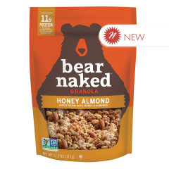 BEAR NAKED - GRANOLA - HONEY ALMOND - 11.20OZ