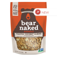 BEAR NAKED - GRANOLA - TOASTED COCONUT ALMOND FIT - 12OZ
