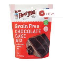 BOB'S RED GRAIN FREE CHOCOLATE CAKE MIX 10.5 OZ PEG BAG