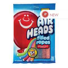 AIRHEADS FILLED ROPES 5 OZ PEG BAG