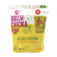 ANGIE'S BOOMCHICKAPOP SEA SALT POPCORN SNACK PACK 6 OZ POUCH