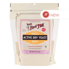BOB'S RED MILL ACTIVE DRY YEAST 8 OZ POUCH