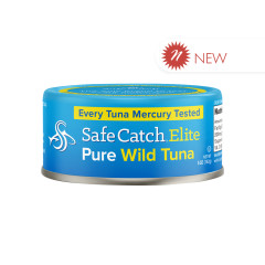 SAFE CATCH ELITE WILD TUNA 5 OZ CAN