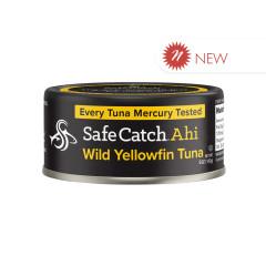 SAFE CATCH AHI SOLID WILD YELLOWFIN TUNA 5 OZ CAN