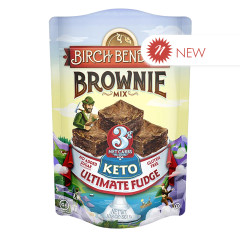 BIRCH BENDERS KETO ULTIMATE FUDGE BROWNIE MIX 10.8 OZ POUCH