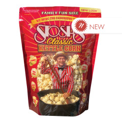 STOSH'S CLASSIC KETTLE CORN FAMILY SIZE 14 OZ POUCH