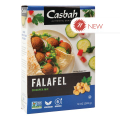 CASBAH FALAFEL CHICKPEA MIX 10 OZ BOX