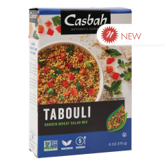 CASBAH TABOULI GARDEN WHEAT SALAD MIX 6 OZ BOX