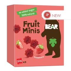 BEAR FRUIT MINIS STRAWBERRY 3.5 OZ BOX