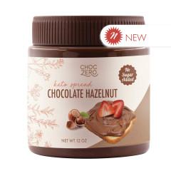 CHOCZERO CHOCOLATE HAZELNUT SPREAD 12 OZ JAR