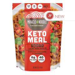 MIRACLE NOODLE KETO ADOBO MEAL 9.2 OZ POUCH