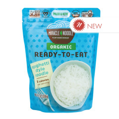 MIRACLE NOODLE ORGANIC READY TO EAT SPAGHETTI STYLE NOODLE 7 OZ POUCH