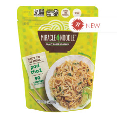 MIRACLE NOODLE READY TO EAT PAD THAI MEAL 9.9 OZ POUCH