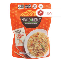 MIRACLE NOODLE READY TO EAT JAPANESE CURRY MEAL 9.9 OZ POUCH