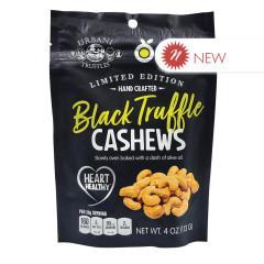 URBANI BLACK TRUFFLE CASHEWS 4 OZ PEG BAG