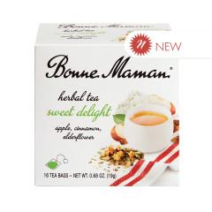 BONNE MAMAN SWEET DELIGHT HERBAL TEA BOX