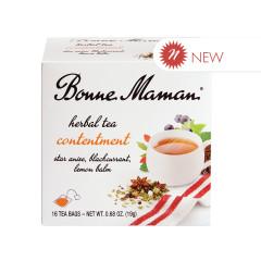 BONNE MAMAN CONTENTMENT HERBAL TEA