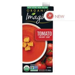 IMAGINE ORGANIC CREAMY TOMATO SOUP 32 OZ TETRA PACK
