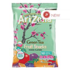 ARIZONA GREEN TEA FRUIT SNACKS 5 OZ BAG