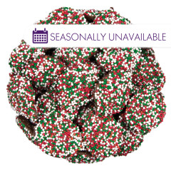 NASSAU CANDY MILK CHOCOLATE CHRISTMAS NONPAREILS