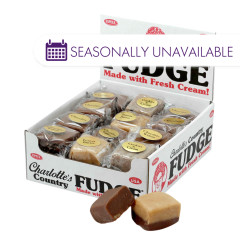 CHARLOTTE'S COUNTRY FUDGE  1.25 OZ
