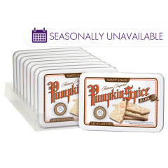 NANCY ADAMS PUMPKIN SPICE BARK 4 OZ TIN
