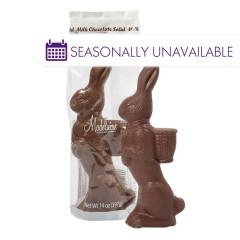 MADELAINE MILK CHOCOLATE STANDING RABBIT 14 OZ
