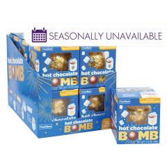 HOT CHOCOLATE MELTING BOMB 1.6 OZ BOX