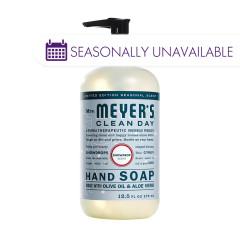 MRS. MEYERS SNOWDROP LIQUID HAND SOAP 12.5 OZ PUMP BOTTLE