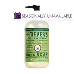 MRS. MEYER'S CLEAN DAY LIQUID HAND SOAP IOWA PINE 12.5 OZ PUMP BOTTLE
