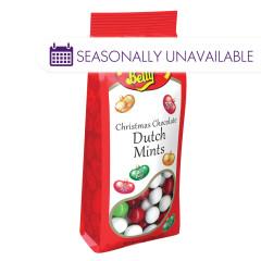 JELLY BELLY CHRISTMAS CHOCOLATE DUTCH MINTS 6 OZ BAG