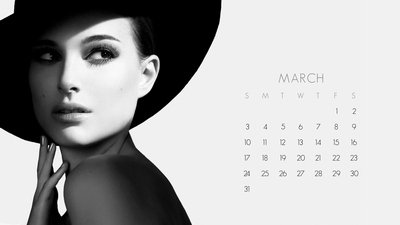 Wallpaper Calendar – March