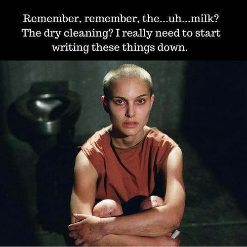 Remember, remember…